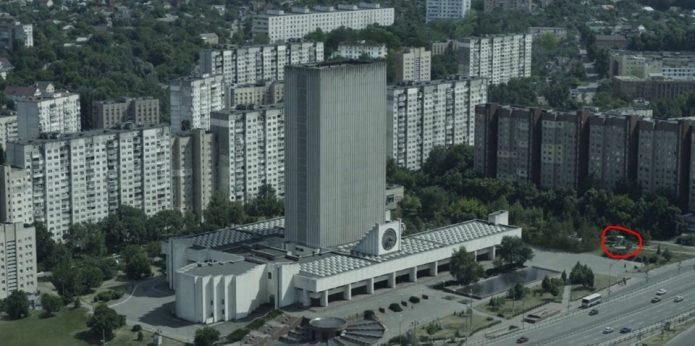 Памятник ликвидаторам катастрофы на чернобыльской АС