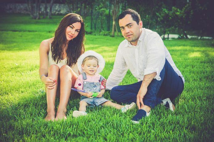 Давид Цаллаев с женой