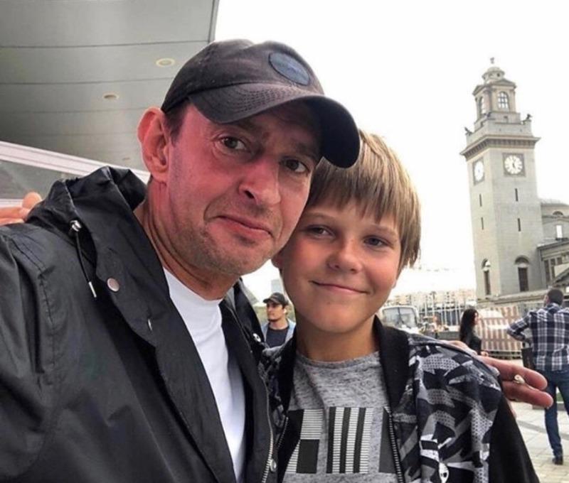Хабенский с сыном
